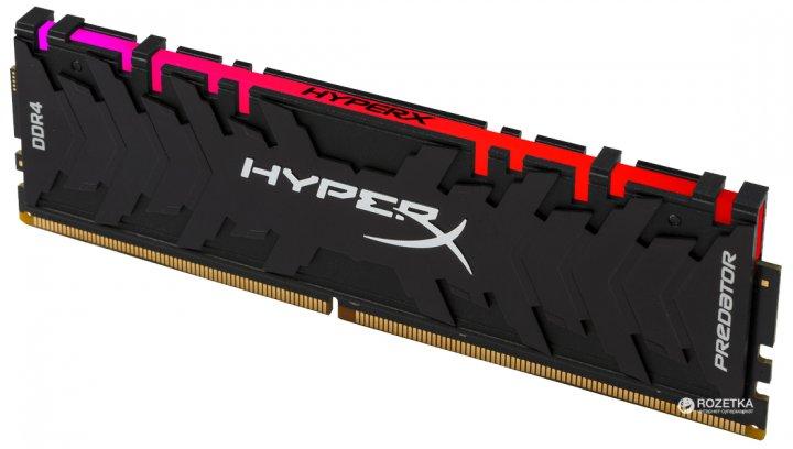 Оперативна пам'ять HyperX DDR4-2933 8192MB PC4-23500 Predator RGB (HX429C15PB3A/8) - зображення 1