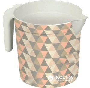 Кружка-лейка Elif Plastik Принт 1.5 л 20х13.5х20 см Геометрия (337-22-геометрія) - изображение 1