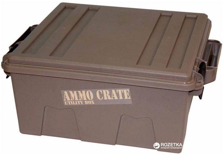 Кейс МТМ Ammo Crate Utility Box для хранения патронов Хаки (17730859) - изображение 1