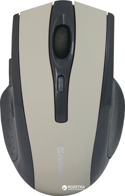 Мышь Defender Accura MM-665 Wireless Grey (52666) - изображение 1