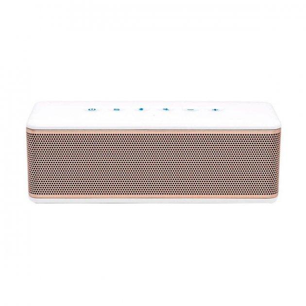 RIVA S Premium Wireless Bluetooth Speaker White/Gold (RS01G) - зображення 1