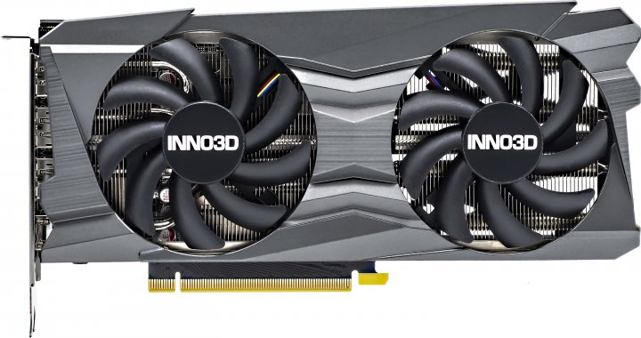 INNO3D PCI-Ex GeForce RTX 3060 Twin X2 12GB GDDR6 (192bit) (1777/15000) (3 x DisplayPort, HDMI) (N30602-12D6-1190VA32A) - зображення 1