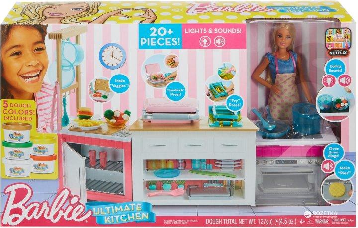 "Набор Barbie ""Готовим вместе"" (887961626094) (FRH73) - изображение 1"