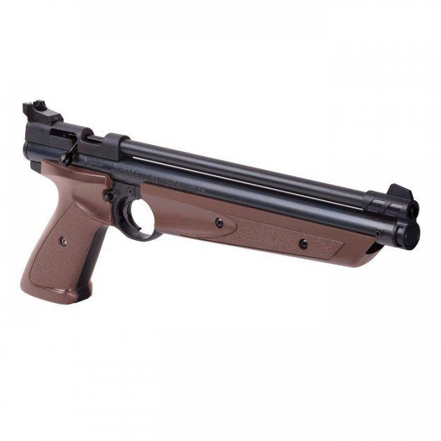 Пневматический пистолет Crosman American Classic P1377 BR - изображение 1