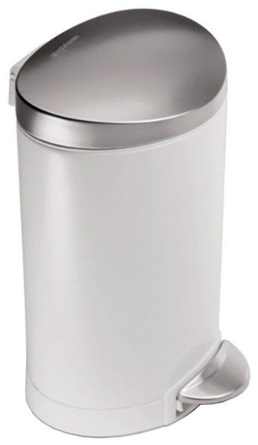 Відро для сміття SIMPLEHUMAN з педаллю CW 1835CB 6 л - зображення 1