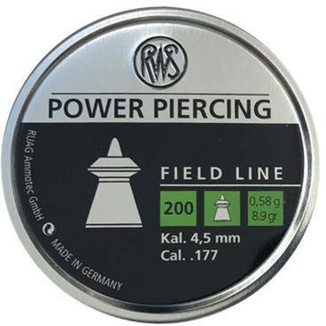Свинцеві кулі RWS Power Piercing 0.58 г 200 шт. (2400064) - зображення 1