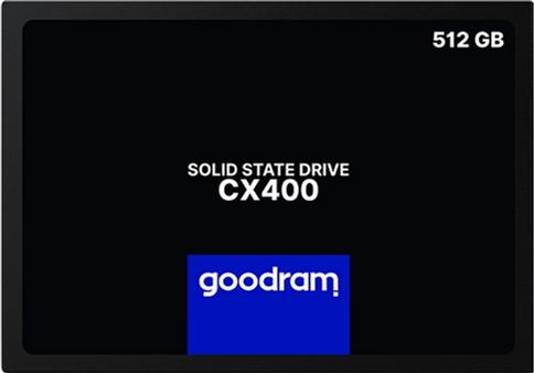 """Goodram CX400 512GB 2.5"""" SATAIII 3D TLC (SSDPR-CX400-512) - изображение 1"""