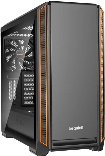 Корпус be quiet! Silent Base 601 Window Black-Orange (BGW25) - изображение 1