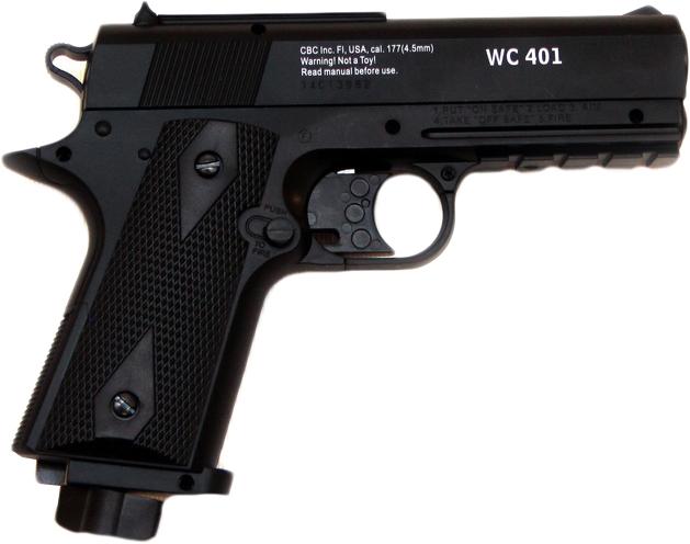 Пневматический пистолет Borner wc 401 (8.3070) - изображение 1