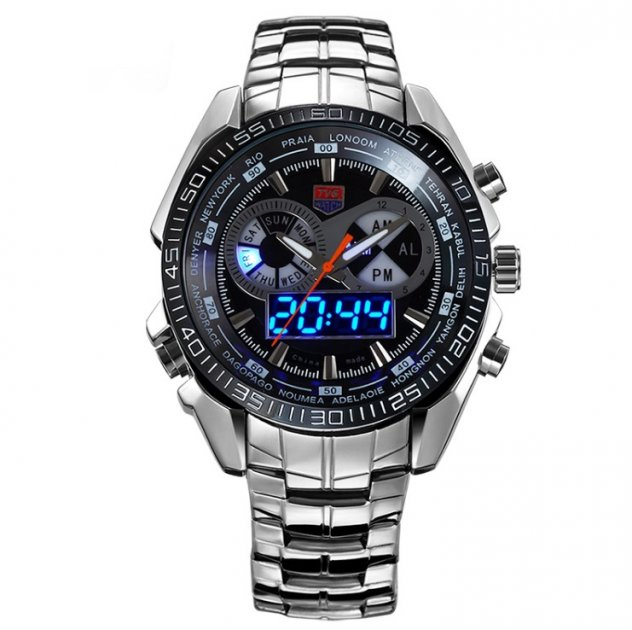Чоловічі годинники Tvg Steel - зображення 1