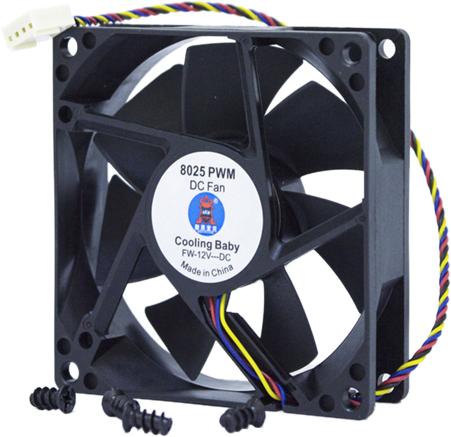 Кулер Cooling Baby 8025 PWM - зображення 1