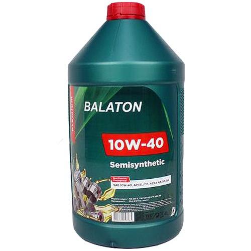 Моторное масло Balaton SEMISYNTHETIC SL/CF 10W-40 4л - изображение 1