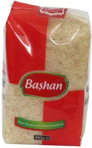 Рис Bashan Басмати индийский 900 г (8680834602391) - изображение 1
