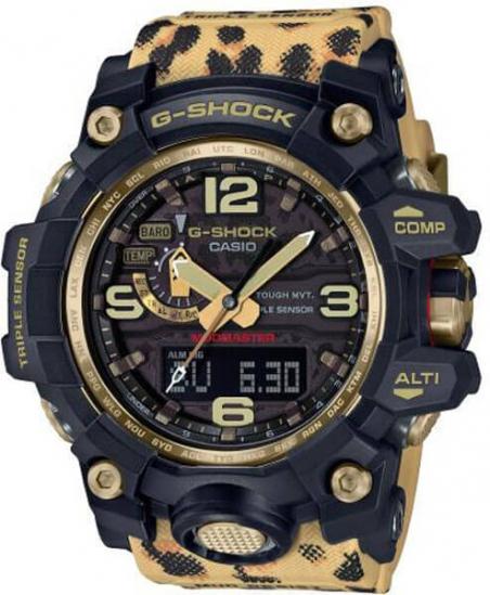Чоловічі годинники Casio GWG-1000WLP-1AER - зображення 1