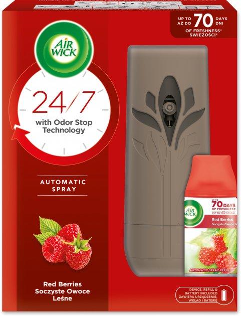 Автоматический освежитель воздуха Air Wick Freshmatic Life Scents Лесные ягоды 250 мл (5900627052220_4820108003583) - изображение 1