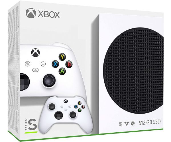 Microsoft Xbox Series S 512Gb + доп. Wireless Controller with Bluetooth (Robot White) - изображение 1