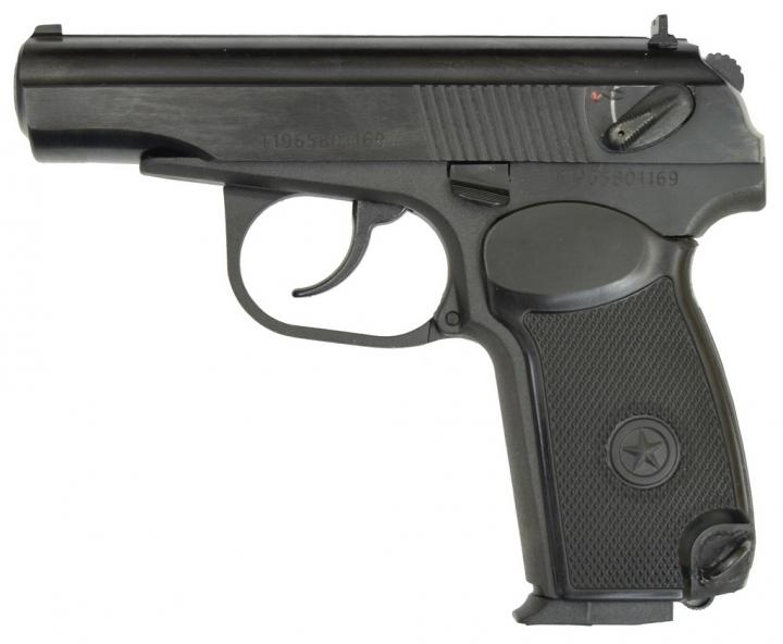 Пневматичний пістолет байкал мр658к(мр654к) blowback - зображення 1