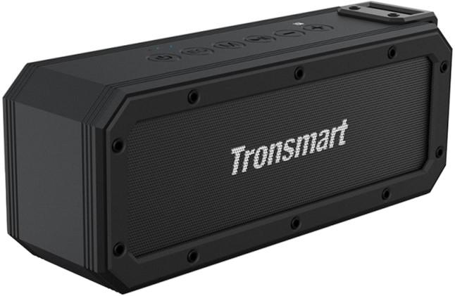 Акустична система Tronsmart Element Force+ Waterproof Portable Bluetooth Speaker Black (FSH78893) - зображення 1