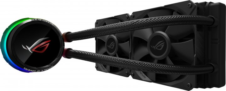 Система жидкостного охлаждения ASUS ROG Ryuo Aura OLED 240 (ROG-RYUO-240) - изображение 1