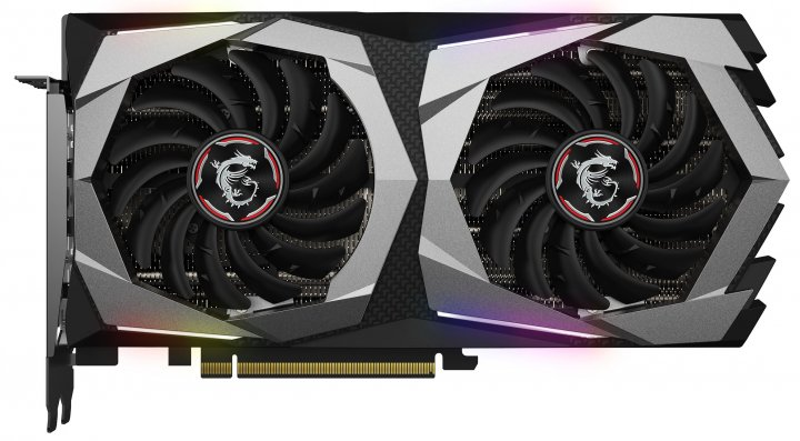 MSI PCI-Ex GeForce RTX 2060 Gaming Z 6G 6GB GDDR6 (192bit) (1830/14000) (3 x DisplayPort, 1 x HDMI 2.0b) (RTX 2060 GAMING Z 6G) - зображення 1