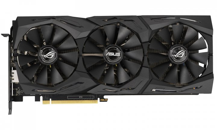 Asus PCI-Ex GeForce RTX 2060 ROG Strix O6G Gaming OC 6GB GDDR6 (192bit) (1860/14000) (2 x DisplayPort, 2 x HDMI 2.0b) (ROG-STRIX-RTX2060-O6G-GAMING) - зображення 1