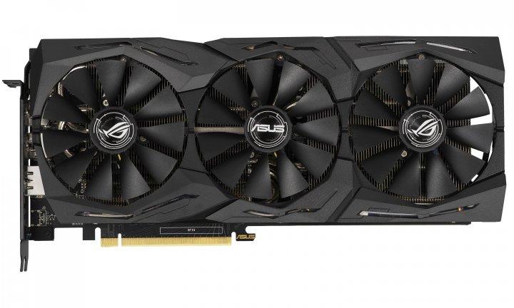 Asus PCI-Ex GeForce RTX 2060 ROG Strix A6G Gaming Advanced Edition 6GB GDDR6 (192bit) (1710/14000) (2 x DisplayPort, 2 x HDMI 2.0b) (ROG-STRIX-RTX2060-A6G-GAMING) - зображення 1