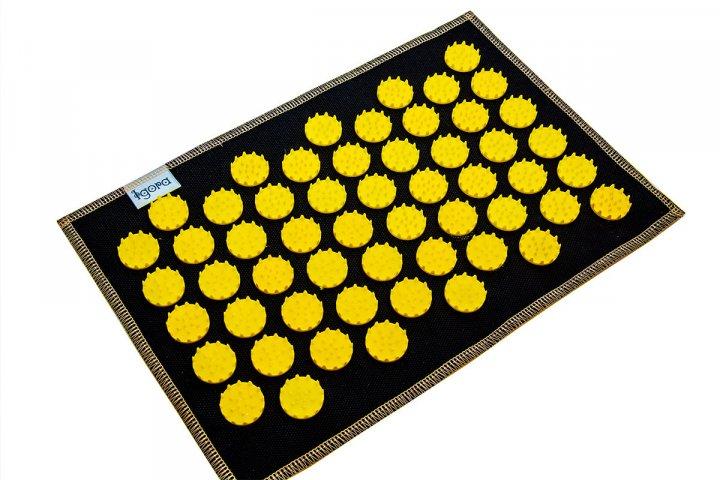 Коврик с аппликатором Кузнецова AIR mini 32х21 см желтые фишки - изображение 1