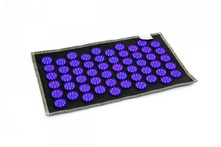Коврик с аппликатором Кузнецова AIR mini 32х21 см фиолетовые фишки - изображение 1