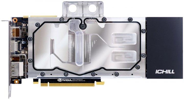 INNO3D PCI-Ex GeForce RTX 2080 Ti iChill Frostbite 11GB GDDR6 (352bit) (1695/14000) (HDMI, 3x DisplayPort, 1x USB-C) (C208TB-11D6X-1150FROS) - изображение 1