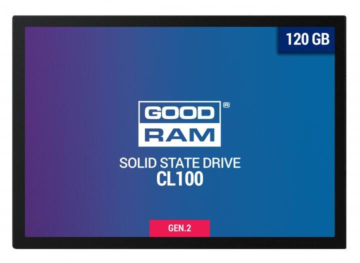 Goodram SSD CL100 Gen.2 120GB SATA III 2.5 (SSDPR-CL100-120-G2) - зображення 1
