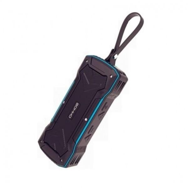 Колонка Bluetooth Somho (S335), чёрно-синий - изображение 1