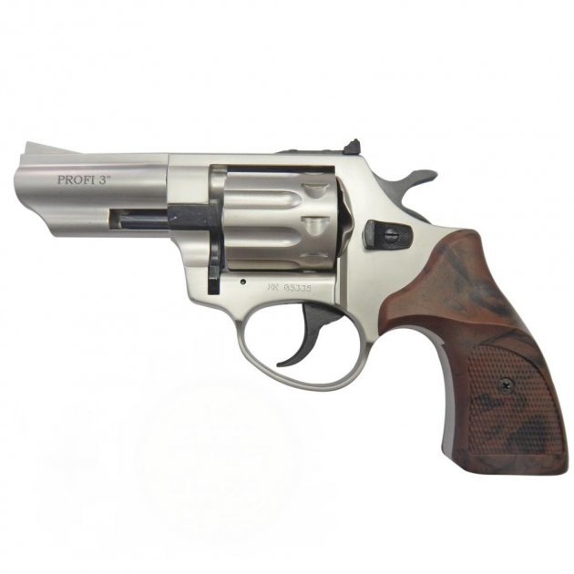 Револьвер под патрон флобера PROFI-3 сатин/Pocket - зображення 1