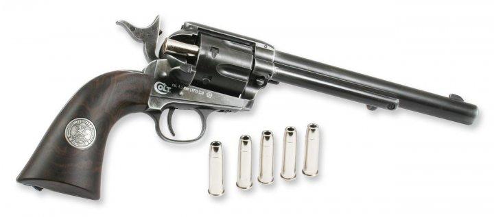 """Пистолет пневматический Umarex Colt SAA .45-7.5"""" US Marshal - зображення 1"""