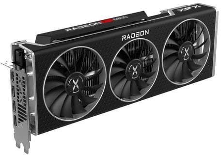 XFX PCI-Ex Radeon RX 6800 MERC 319 16GB GDDR6 (256bit) (1775/16000) (HDMI, 3 x DisplayPort) (RX-68XLATBD9) - зображення 1