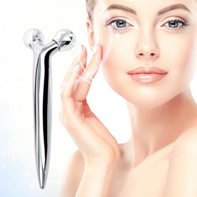 Ручной мини 3D-массажер для укрепления кожи. 3D-массажер для лица и тела СКИДКА - изображение 1