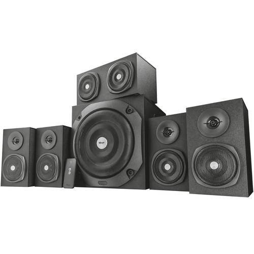 Акустична система TRUST Vigor 5.1 Surround Speaker System for PC black - зображення 1