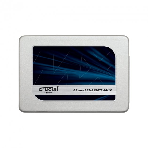 Твердотільний накопичувач 525Gb Crucial MX300 SATA3 2.5' 3D VNAND TLC 530/510 MB/s CT525MX300SSD1 - зображення 1