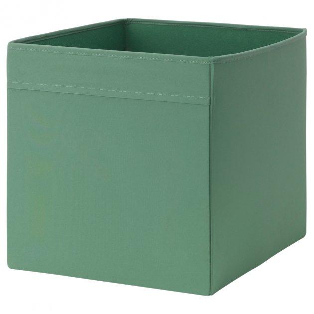 Коробка IKEA DRÖNA 33x38x33 см темно-зелена 202.988.01 - зображення 1