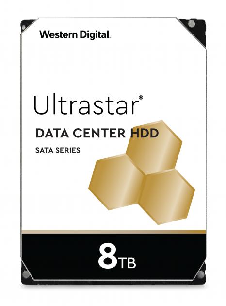 """Жорсткий диск Western Digital Ultrastar DC HC320 8TB 7200rpm 256MB HUS728T8TAL5204 0B36400 3.5"""" SAS - зображення 1"""