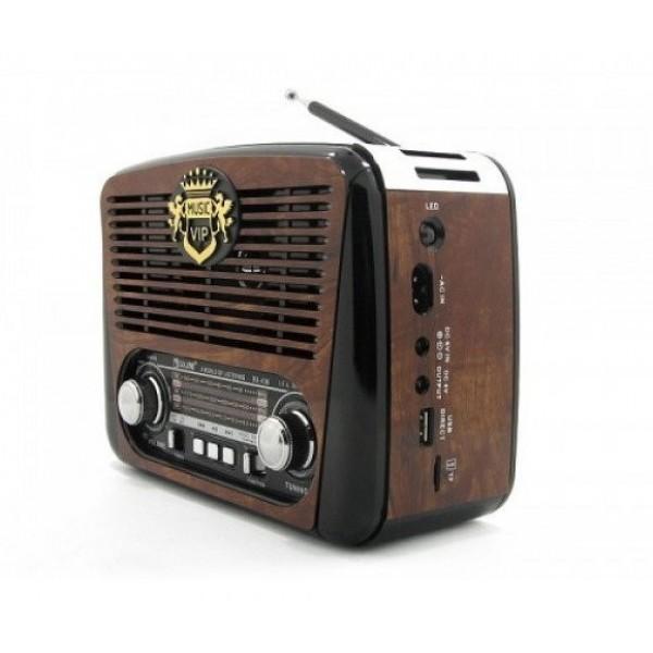 Портативное аккустическое радио в классическом стиле RX-436 Brown - изображение 1