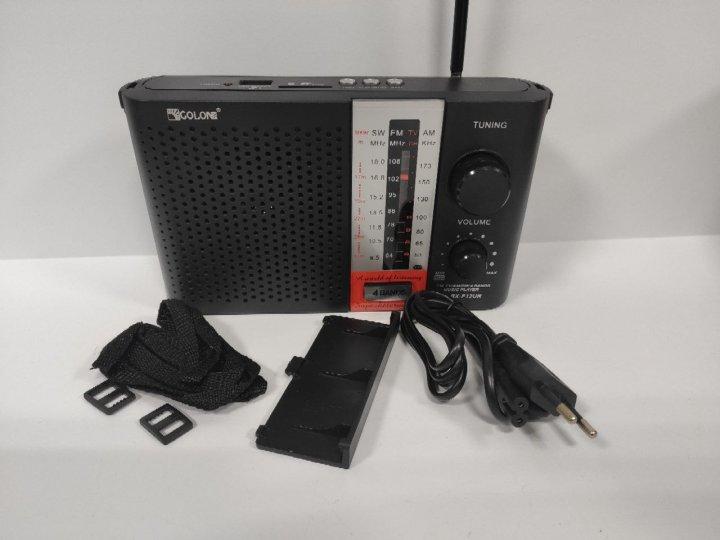Радиоприёмник радио GOLON RX-F12UR Black - изображение 1