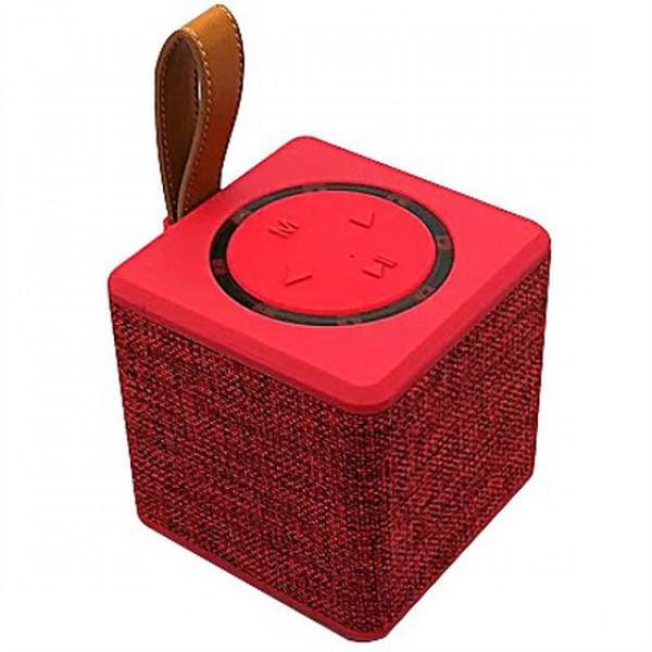Беспроводная аккумуляторная Bluetooth колонка акустика New Rixing NR-1016 Original Red - изображение 1