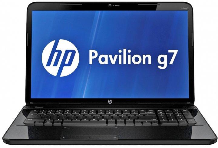Ноутбук HP Pavilion G7-2128so-AMD A6-4400M-2.7GHz-4Gb-DDR3-320Gb-HDD-W17.3-Web-DVD-R-(B-)- Б/В - зображення 1