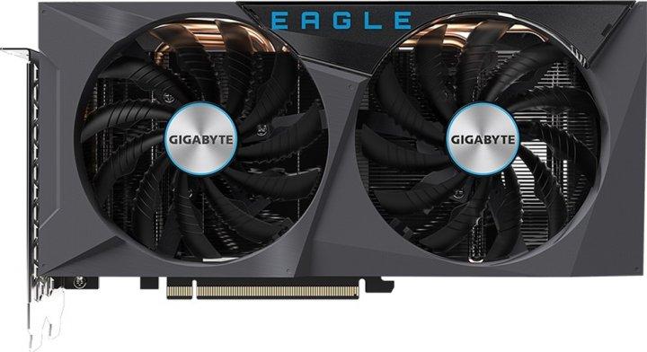 Gigabyte PCI-Ex GeForce RTX 3060 Eagle 12G 12 GB GDDR6 (192 bit) (15000) (2 х HDMI, 2 x DisplayPort) (GV-N3060EAGLE-12GD) - зображення 1