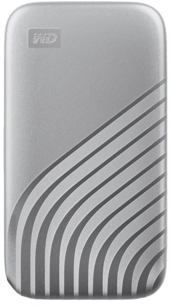 Western Digital My Passport 500GB USB 3.2 Type-C Silver (WDBAGF5000ASL-WESN) External - зображення 1