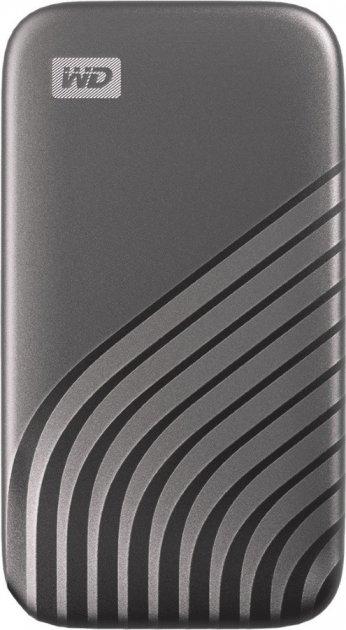 Western Digital My Passport 500GB USB 3.2 Type-C Space Gray (WDBAGF5000AGY-WESN) External - зображення 1