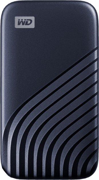 Western Digital My Passport 1TB USB 3.2 Type-C Midnight Blue (WDBAGF0010BBL-WESN) External - зображення 1