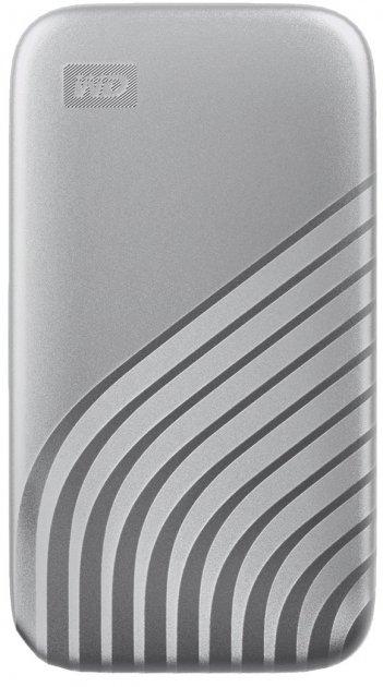 Western Digital My Passport 1TB USB 3.2 Type-C Silver (WDBAGF0010BSL-WESN) External - зображення 1