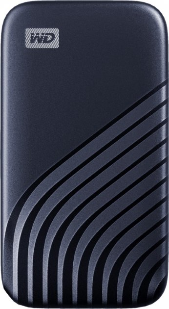 Western Digital My Passport 2TB USB 3.2 Type-C Midnight Blue (WDBAGF0020BBL-WESN) External - зображення 1
