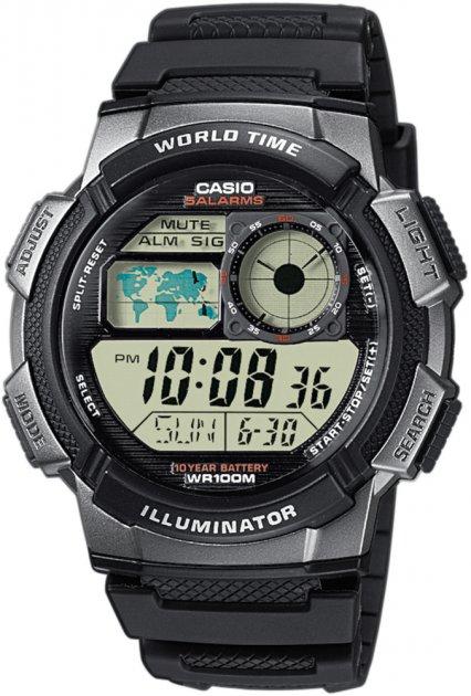 Чоловічі годинники Casio AE-1000W-1BVEF - зображення 1